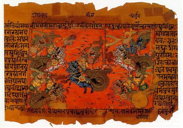 Bhagavad-Gita, Krishna,  Le yoga, voyage au centre de soi